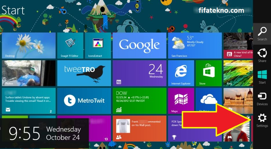 cara masuk bios windows 8