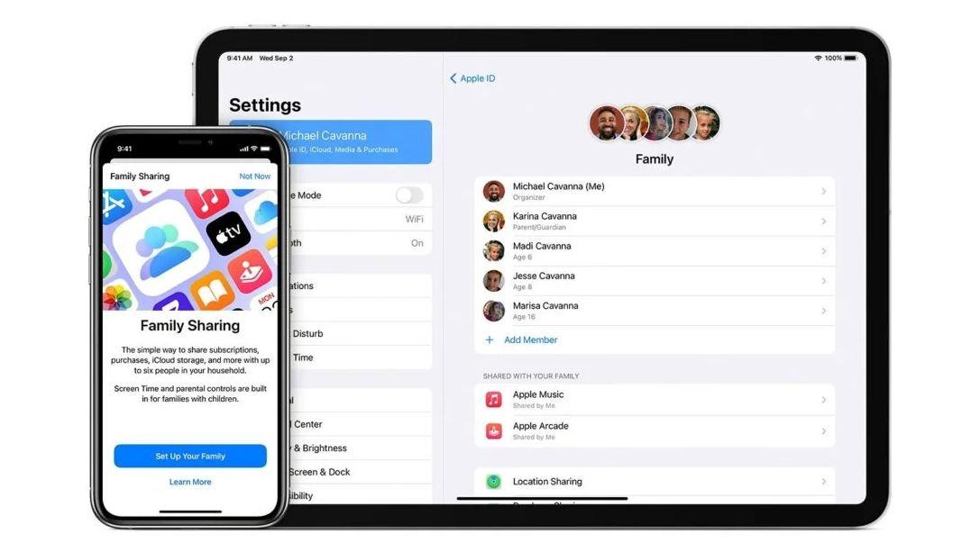 Cara Menggunakan Apple Family Sharing